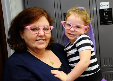 Granny and Ruby in Cat Eye Glasses